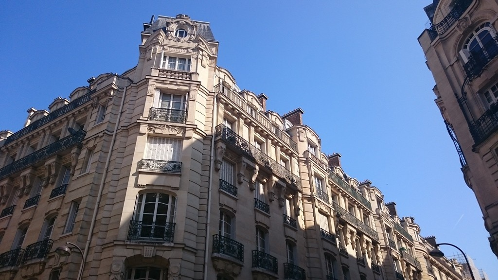 High standing apartment, Paris 16th